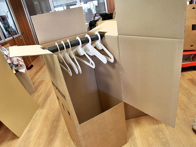 Come traslocare i vestiti da vero professionista